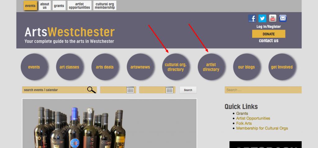 screenshot of navigation menu   user taxonomies for wordpress