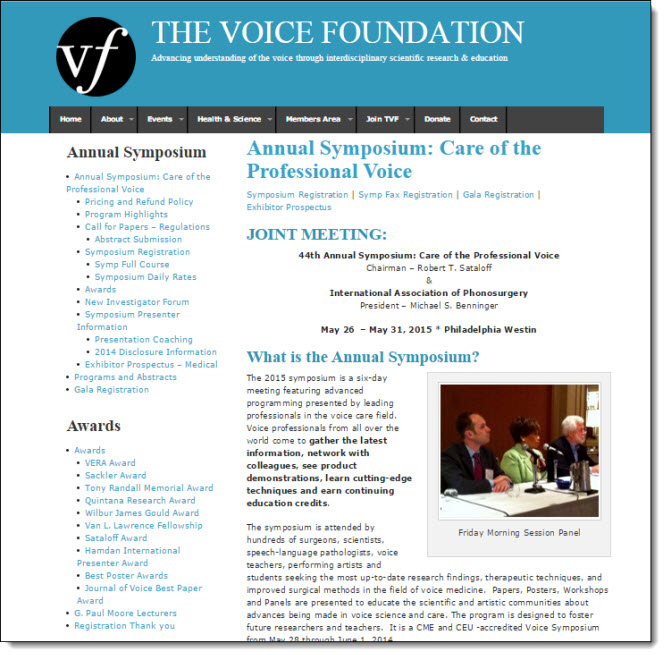 Voice Foundation