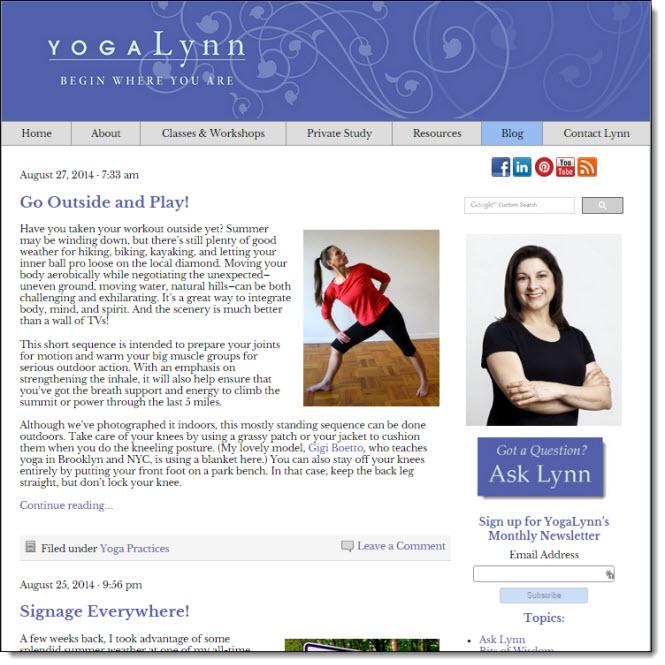 Yoga-Lynn