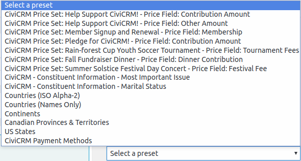 CFC Payment Methods
