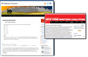 New York Writers Coalition CiviCRM Website