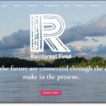 Rainforest Fund WordPress Website by Tadpole Collective