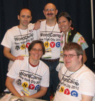 Tadpole's presentations from WordCamp NYC will be posted in the next day or two.