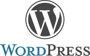 WordPress logo and wordmark