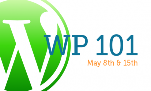 WordPress training: WP101 Beginniner Workshop